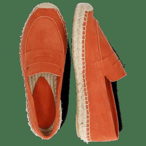 Espadrilles Bree 2 Suede Orange
