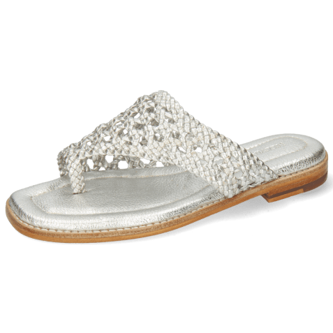 Mules Elodie 16 Cherso Silver LS
