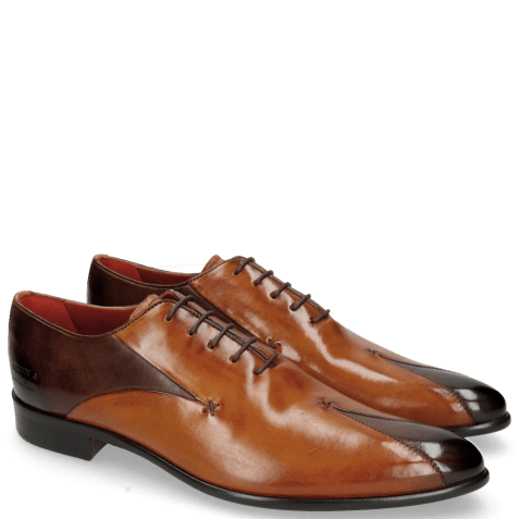 Oxford shoes Toni 31 Mogano Tan LS Red
