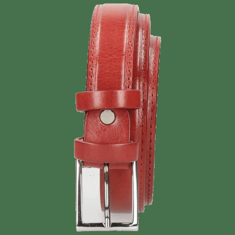 Belts Linda 1 Ruby Classic Buckle