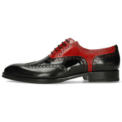 Oxford shoes Kane 36 Rubber Patent Black Ruby