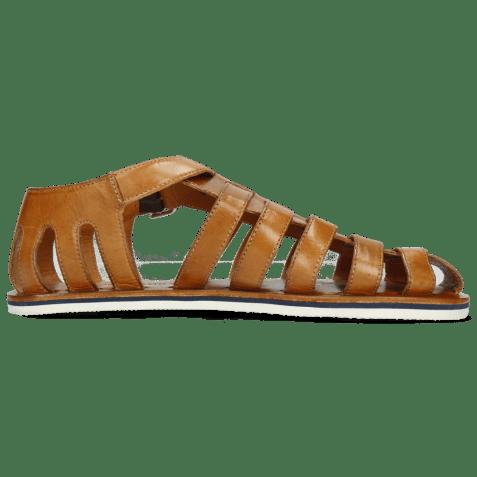Sandals Sam 3 Tan Lining Rich Tan Modica