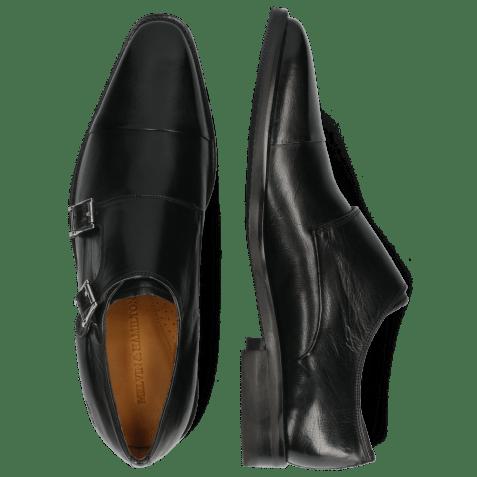 Monks Freddy 1 Remo Black Modica Navy