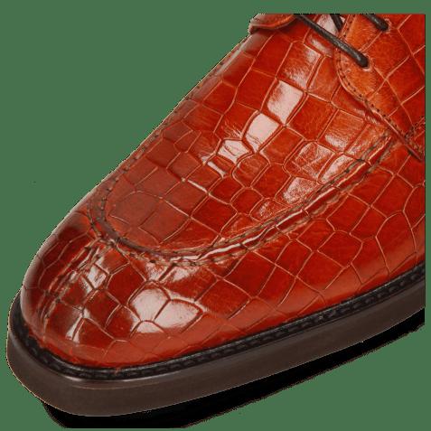 Derby shoes Parker 1 Crock Orange Genevra
