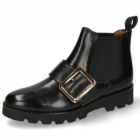 Ankle boots Selina 45 Black Buckle Luna Gold