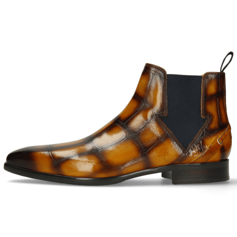 Ankle boots Lance 19 Galap Yellow Brown