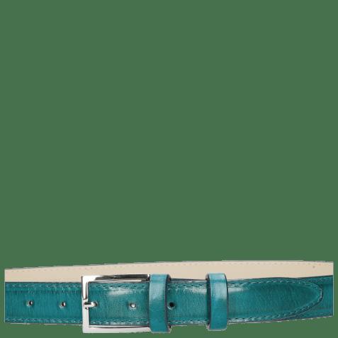 Belts Linda 1 Turquoise Classic Buckle