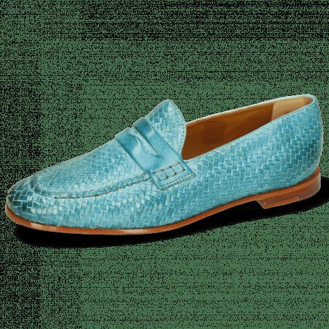 Loafers Scarlett 52 Vegas Haring Bone Weave Sweet Water