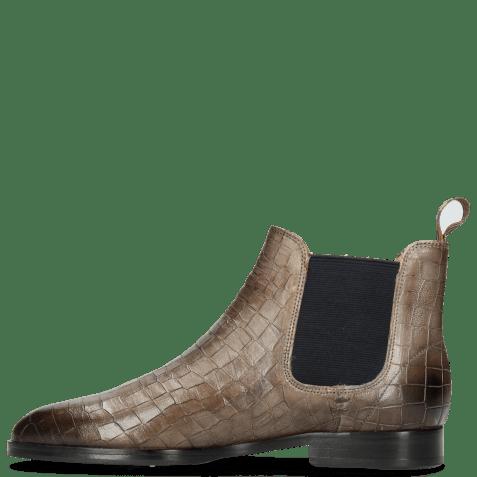 Ankle boots Susan 10 Venice Crock Stone Loop Peru