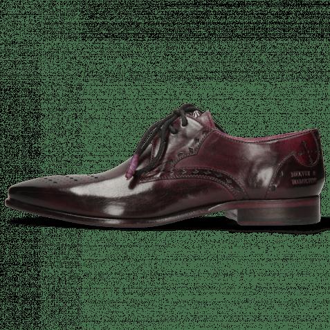 Derby shoes Elvis 1 Viola Lining