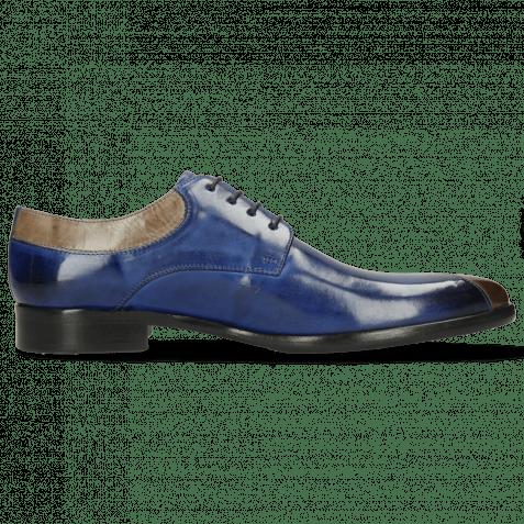 Derby shoes Toni 36 Digital Electric Blue