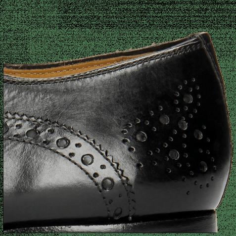 Derby shoes Kris 2 Black Lining Rich Tan
