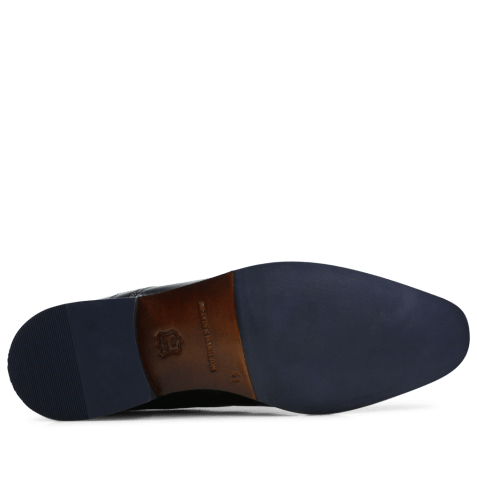 Derby shoes Xander 1 Venice Black HRS Navy
