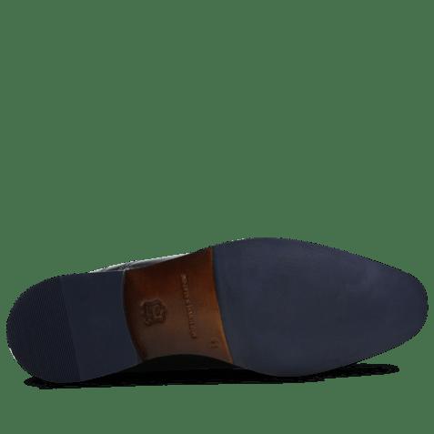 Derby shoes Xander 1 Venice Black HRS Navy