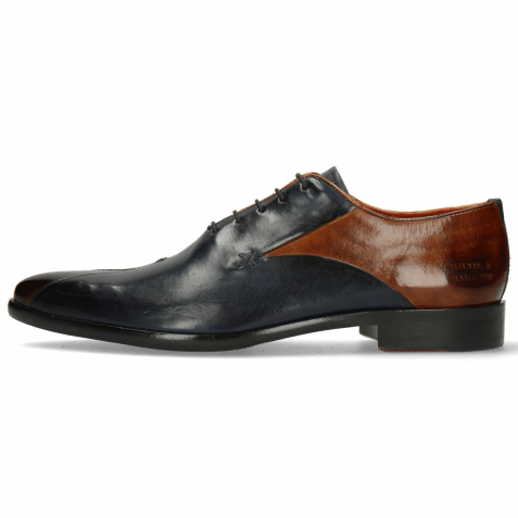 Oxford shoes Toni 31 Wood Navy Lining