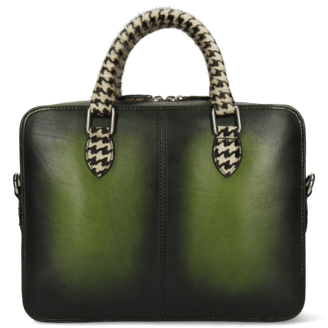 Handbags Vancouver Ultra Green Shade Black