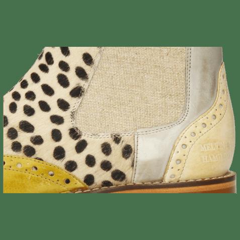Ankle boots Selina 29 Vegas Olivine Digital Nude Hairon Wildcat