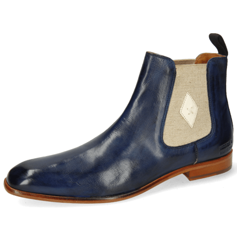 Ankle boots Elyas 5 Imola Navy Patch