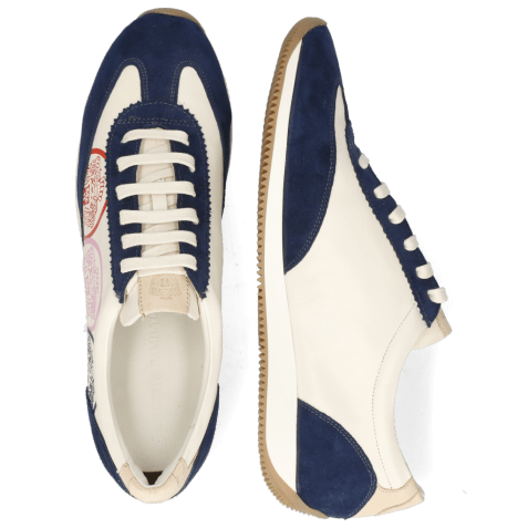 Sneakers Rocky 6 Oily Suede Navy Flex White