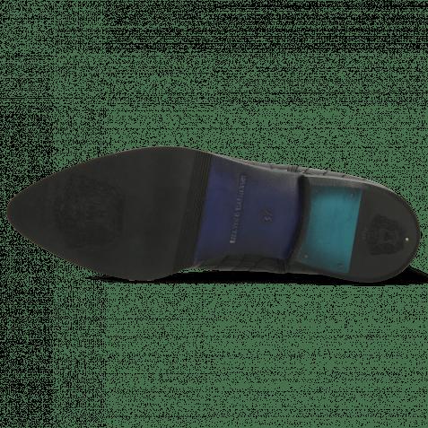 Ankle boots Jessy 10 Crock Black Elastic Black