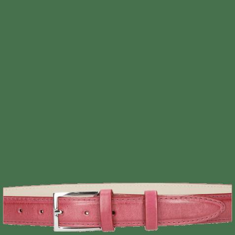 Belts Linda 1 Dark Pink Classic Buckle