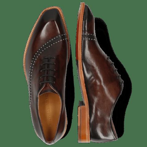 Oxford shoes Gaston 2 Mogano Rivets