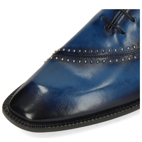 Oxford shoes Gaston 2 Mid Blue Shade Navy Rivets