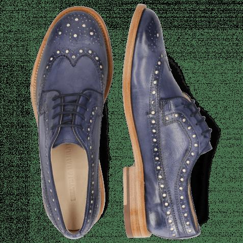 Derby shoes Jade 2 Imola Avio Underlay White