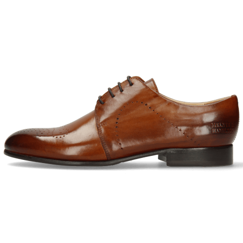 Derby shoes Sally 1 Wood Lining Rich Tan