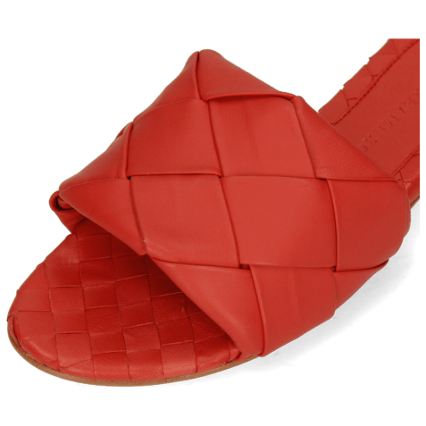 Mules Hanna 67 Nappa Red Lining