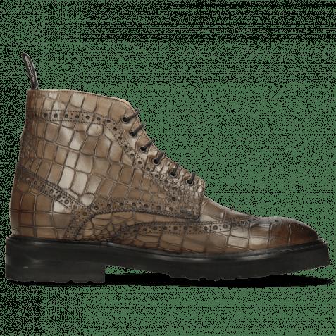 Ankle boots Matthew 7 Rio Reptile Stone Loop Nylon