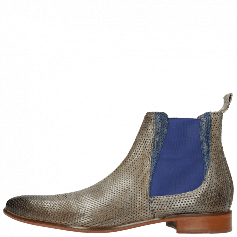 Ankle boots Toni 6 Classic Perfo Morning Grey Crock China Blue