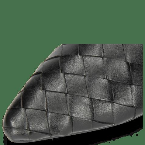 Mules Alexa 12 Woven Nappa Black