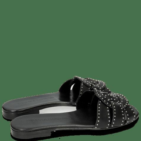 Mules Elodie 13 Salerno Black