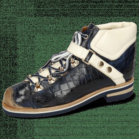 Ankle boots Eliza 1 Crock Navy Vegas White