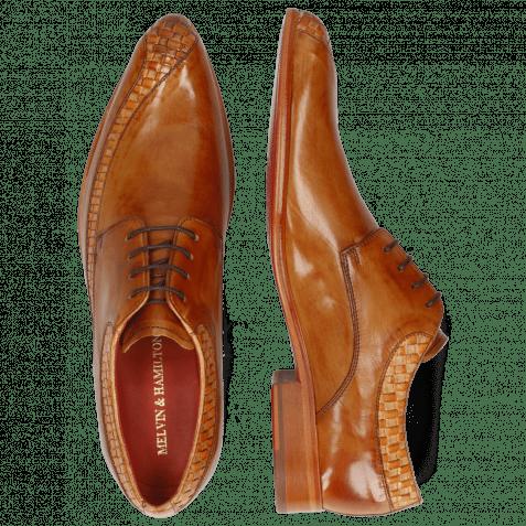 Derby shoes Toni 36 Woven Powder Arancio Tan