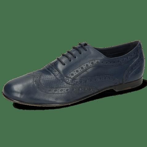Oxford shoes Sonia 1 Nappa Perfo Navy