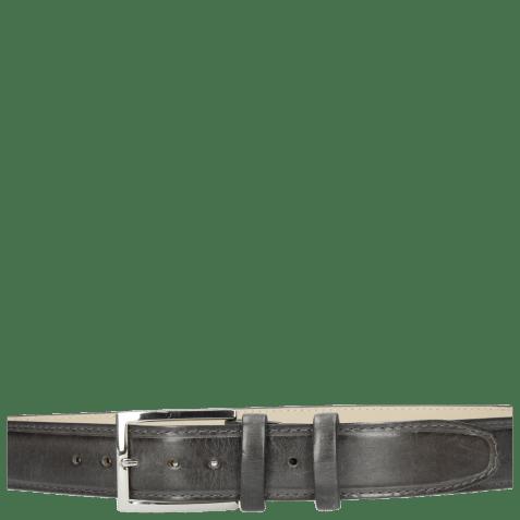 Belts Larry 1 Grigio Classic Buckle