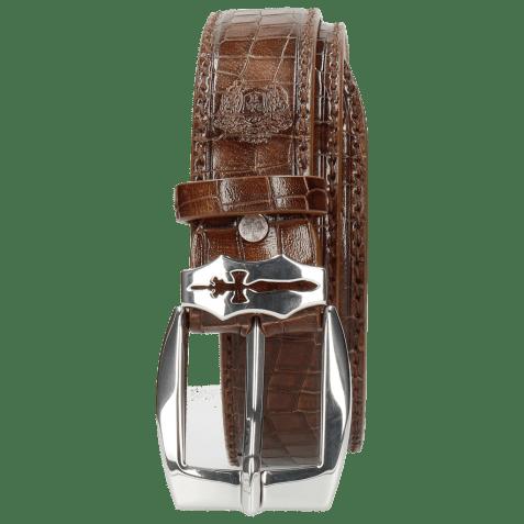 Belts Larry 1 Crock Wood Sword Buckle