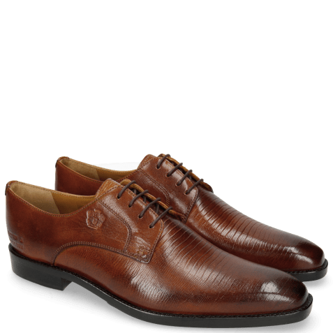 Derby shoes Martin 1 Venice Guana Tan