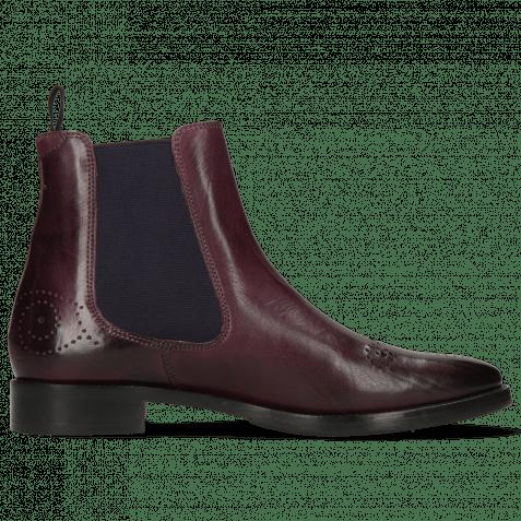 Ankle boots Betty 1 Viola Elastic Purple