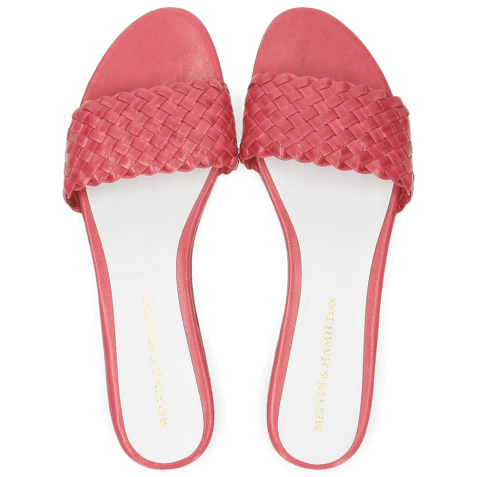 Mules Hanna 26 Woven Hot Pink