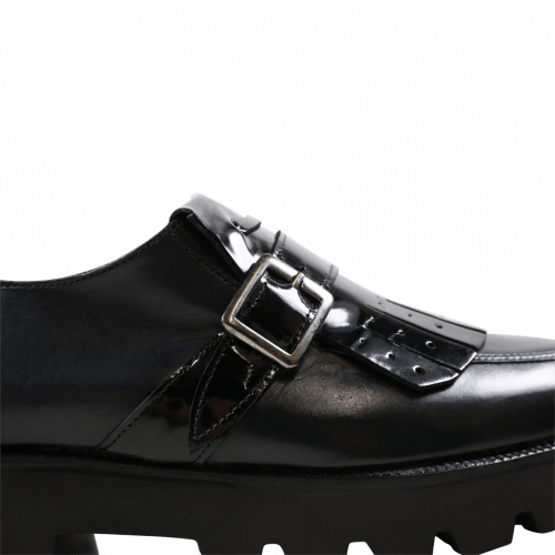 Monks Kelly 14 Black Strap Black