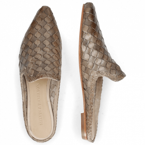 Mules Lydia 2 Woven Scale Digital