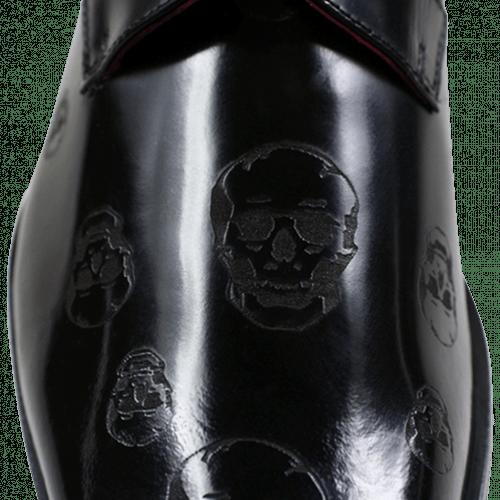 Derbies Mark 5 Brush Black Lasercut Skull New HRS
