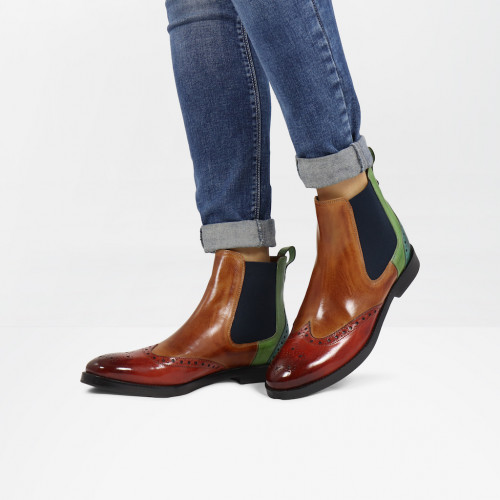 Bottines Amelie 5 Rust Tan New Grass Abyss
