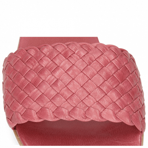 Mules Hanna 26 Woven Hot Pink
