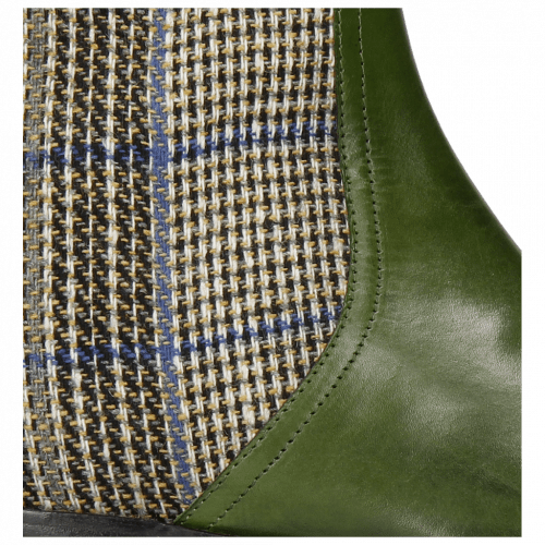 Bottines Jessy 29 Ultra Green Textile Bambina