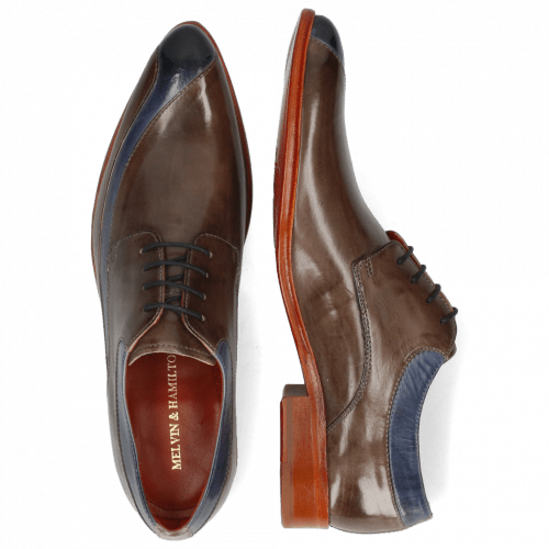 Derbies Toni 36 Moroccan Blue Stone