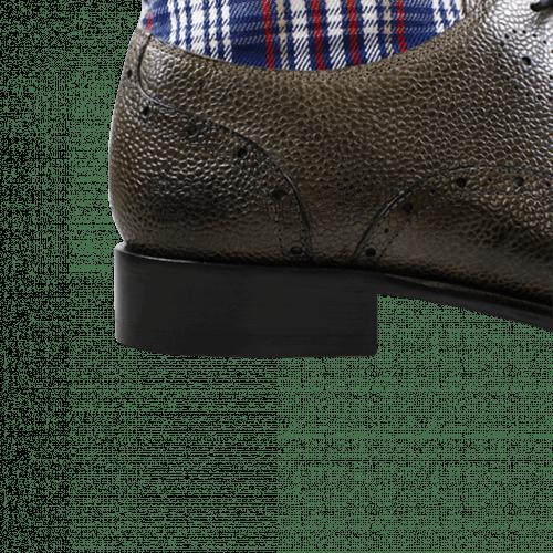 Bottines Patrick 4 Scotch Grain Textile Grey Check HRS